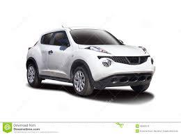 nissan white nissan juke stock photo image of transportation isolated 48392574