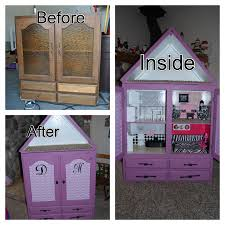 diy barbie house convert a cupboard into a barbie house you can