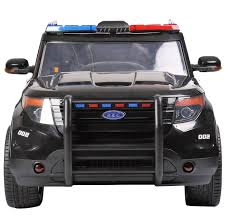 rebo ford police interceptor style 12v child u0027s ride on electric