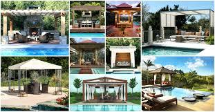 poolside designs gazebo gazebo pool image of outdoor designs poolside kuala lumpur