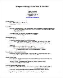 Engineering Student Sample Resume Research Paper Latex Example Annotated Bibliography Uow Uc