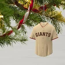 san francisco giants jersey ornament keepsake ornaments hallmark