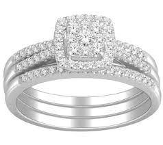 wedding ring trio sets 1 carat trio wedding ring set for certified diamond