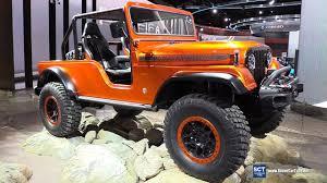 jeep concept 2017 2017 jeep cj66 concept exterior walkaround 2017 detroit auto