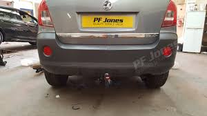 vauxhall algeria vauxhall antara suv 2007 onwards witter detachable tow bar