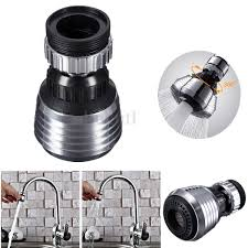new swivel spray steam aerator faucet thread tap water saving for