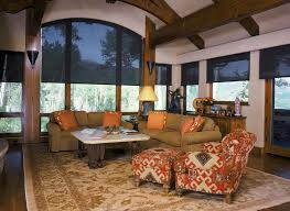 Window Treatment Blinds For Living Room Architecture Attractive Modern Pull Down Blinds For Arched