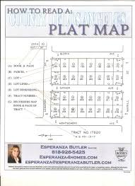 How To Read Dimensions How To Read A Plat Map County Of Los Angeles