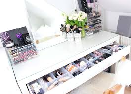 Vanity Makeup Makeupbord Makeup Vanity Ikea Malm U0026 Muji