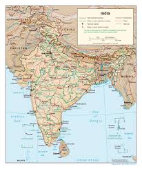 India Map With Cities by Large Detailed Political And Administrative Map Of India With