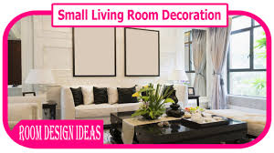 small living room decoration how to decorate a living room on a