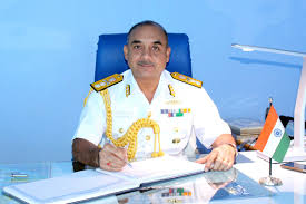 Admirals Flag Chindits Rear Admiral Alok Bhatnagar Takes Over As Flag Officer