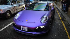 turbo porsche red matte purple turbo s launch control crazy drift and red line revs