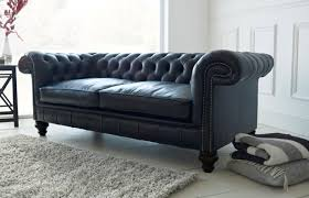 Chesterfield Black Sofa Paxton Black Leather Chesterfield Chesterfield Company For Black