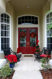 backyards christmas quickie the front door pinterest decorating