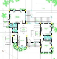 Floor Plan And Perspective Spm10 Releases Featured House Design For The Month Of July