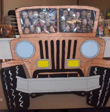 australian outback jeep a friend and i created this cute jeep to tape to the front of my