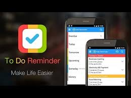 add reminder in android to do reminder with alarm android apps on play