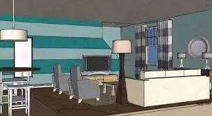 coastal contemporary living room in hampstead nc