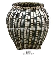 artex thang long decorative wicker umbrella stand basket tall