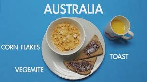 what do in different countries eat for breakfast