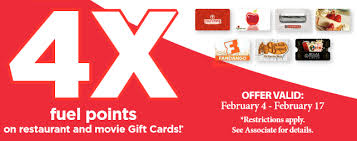 gas gift card deals new kroger gift card promotion for s day earn 4x gas