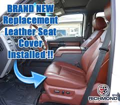 ford f250 seats 2012 ford f250 f350 king ranch driver side bottom perforated