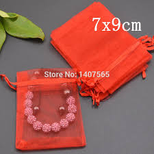 organza bags wholesale aliexpress buy small organza bags 7x9cm drawable wedding