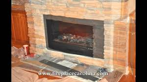 gas to electric fireplace conversion 2 8 15 youtube