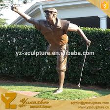 golf statues home decorating stylist design golf statues home decorating remarkable stylish life