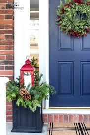 easy christmas porch decor u0026 a kirkland u0027s giveaway on sutton place
