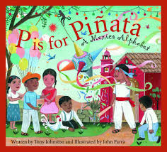 p is for pinata a mexico alphabet discover the world tony
