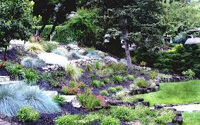 Steep Hill Backyard Ideas Home Garden Designs Landscaping A Hillside Ideas On Steep Hill