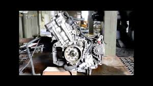 motor honda cb 600 hornet 2001 pc25e engine youtube