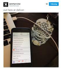 ios hacker luca todesco shows off device jailbroken on ios 9 3 4