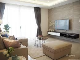 contemporary home design for vina residence cheras interior