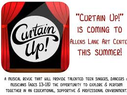Is Seeking Curtain Up Is Seeking Talented For Show In August