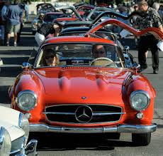 classic red mercedes sharing tips that keep classic gullwings running the new york times