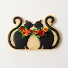 cat cake topper black cat cookie wedding cake topper sweetambssweetambs