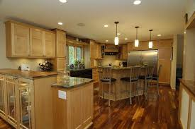 Maple Cabinet Kitchen Staining Maple Cabinets Kitchen Transitional With