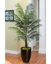 order lush and lifelike silk palm plants at petals