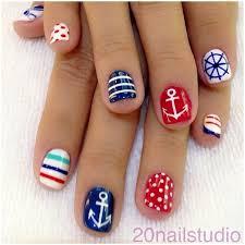 28 colorful nail art designs that scream summer marines