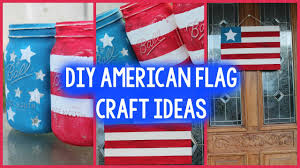 American Flag Home Decor Diy Memorial Day Room Decor 4th Of July Craft Ideas Home Decor