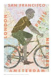 Nyc Bike Map 204 Best Bicycle Cycling Art Images On Pinterest Bicycle Art