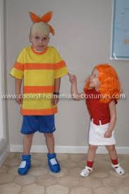 Phineas Halloween Costume Coolest Phineas Candace Flynn Kid U0027s Couple Costume