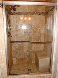 tile ideas for downstairs shower stall for the home shower stall with bench design ideas pictures remodel and decor