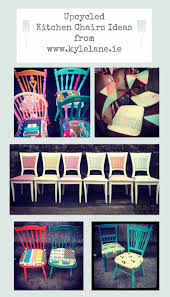kitchen chair ideas upcycled kitchen chair ideas upcycled paintedchairs
