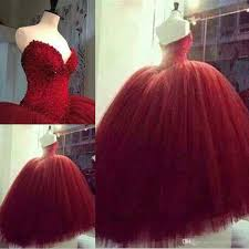 maroon quinceanera dresses quinceanera dresses sweetheart strapless gown tulle
