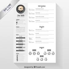 free modern resume templates downloads modern resume template vector free download