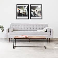 Gus Atwood Sofa by Gus Modern Spencer Sofa Wood Base Tuck Studio